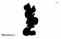 Minnie Mouse Silhouette Icon