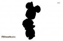 Free Baby Pluto Dog Silhouette