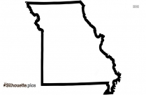 Missouri Silhouette Illustration Image