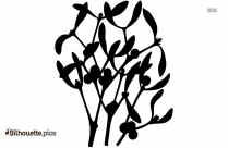 Yucca Plant Silhouette Free Vector Art