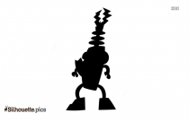 Electroids Teslo From Mixels Silhouette