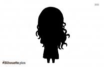 Moana Chibi Silhouette Clipart
