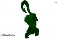 Cartoon Kiwi Bird Silhouette Free Download