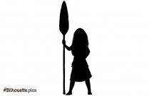 Disney Princess Moana Silhouette