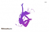 Hip Hop Boy Character Silhouette Image