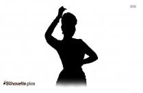 Mohiniyattam Clipart Silhouette