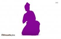 Mohiniyattam Dance Silhouette Image