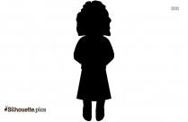 Woman Dancing Emoji Silhouette