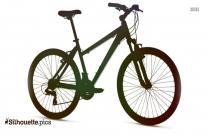 Mongoose Fireball Bi-cycle Silhouette
