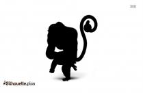 Monkey Character Kung Fu Panda Silhouette