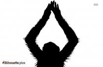 Free Monkey Toy Silhouette