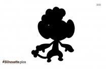 Monkey Pokemon Silhouette Clipart