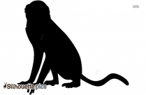 Cartoon Lion Silhouette Pic