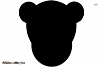 Cartoon Monkey Love Silhouette