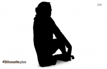 Donkey Rearing Up Silhouette Image