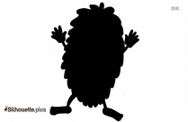 Monster Cartoon Art Silhouette