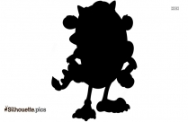 Monster Drawing Silhouette Image And Vector
