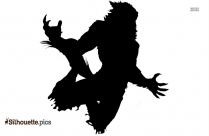 Monster Wolf Attack Silhouette