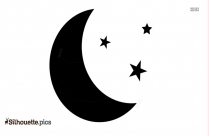 Moon Stars Silhouette Images
