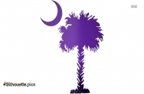 Moon And Tree Clipart Silhouette