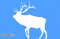 Buffalo Clip Art Vector Silhouette