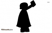 Mormons Illustration Silhouette