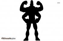 Goro Silhouette Art, Mortal Kombat Vector