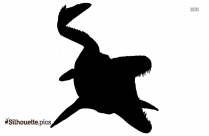 Mosasaur Silhouette Picture