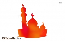 Mosque Vector Clipart Silhouette