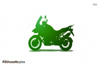 Motorbike Silhouette Vector And Graphics Image