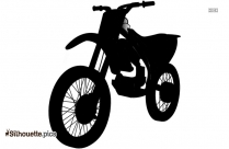 Motorbike Clip Art Silhouette