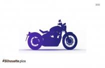 Motorbike Silhouette Vector