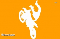Bicycle Ride Clipart Silhouette Image