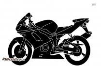 Motorcycle Drawings Silhouette