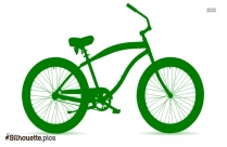 Free Bicycle Drawing Silhouette Background Image