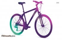 Mountain Bike Silhouette Free Download