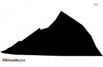 Mountain Silhouette Image And Vector