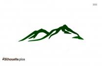Colorado Mountain Silhouette Vector And Graphics