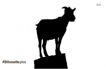 Texas Longhorn Cattle Head Silhouette