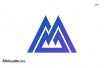 Mountain Logo Silhouette Icon