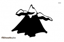 Mountain Clipart Silhouette Image