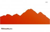 Rocky Mountain Silhouette Free Vector Art