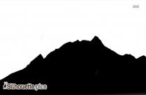 Mountain View Silhouette