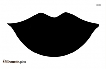 Mouth Cartoon Lip Silhouette Drawing