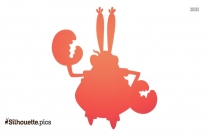 Cartoon Character Muppet Baby Silhouette