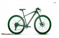 Mtb Mountain Bike Silhouette
