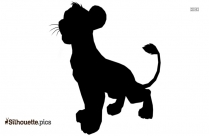 Disney Skunk Silhouette Icon