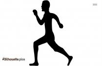 Little Boy Running Silhouette