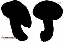 Mushroom PNG Silhouette