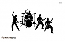 Music Band Silhouette